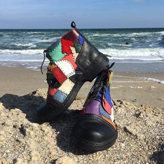 Уникальные мужские ботинки
