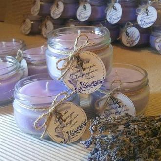 Мастерская L'engard принимает заказы на производство бонбьоньерок- свечей.
