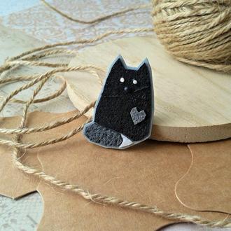 Брошка котик Віллі