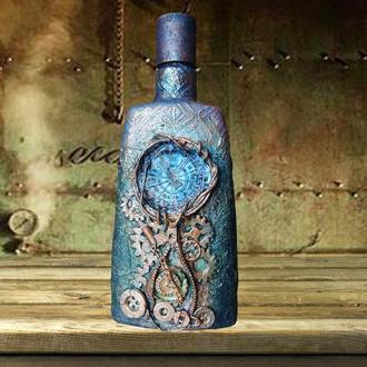 Стимпанк бутылка Подарки в стиле steampunk