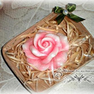 """Мыло сувенирное"""" Роза"""" в упаковке"""