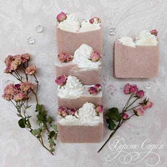 Натуральное мыло «Розовый Венок»
