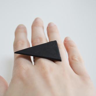 Кольцо треугольник. Коллекция Геометрия.