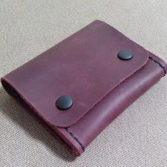 Міні-гаманець із шкіри crazy horse