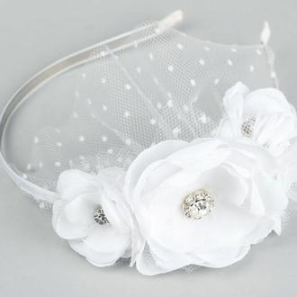 Ободок для невесты