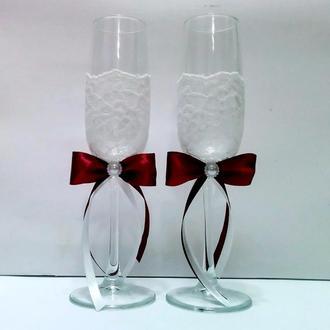 Свадебные бокалы №2