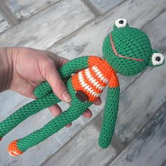 Жаба (Царевна Лягушка) - игрушка ручной работы