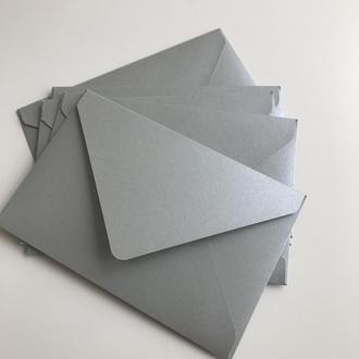 Конверт кольоровий в асортименті (silver)