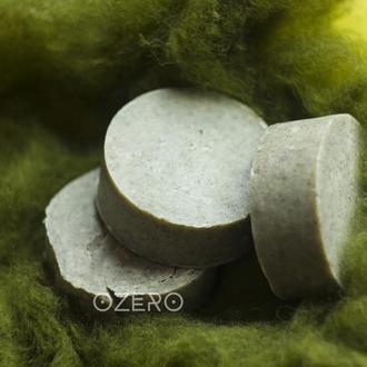 Мыло с нуля с зеленой глиной для проблемной кожи