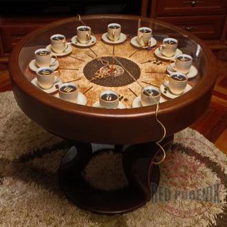 Кофейные, журнальные, обеденные дизайнерские столы