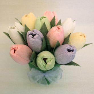 """Букет из конфет """"Свежесть весны"""""""