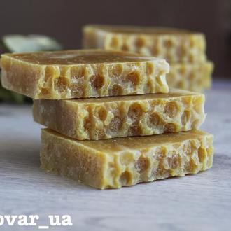 Мыло медовое с шелком и облепиховым маслом для чувствительной кожи