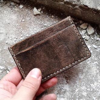 Картхолдер / Визитница / Leather Card Case