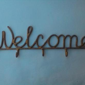 "Ключниця. Вішалка ""Welcome"""