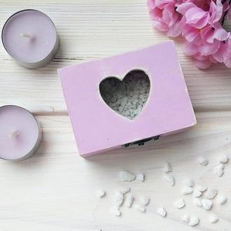 "Small box ""Стеклянное сердце"""