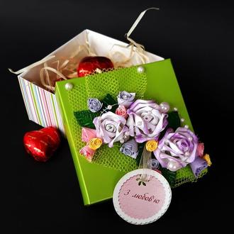Коробочка  ручной работы для конфет или украшений