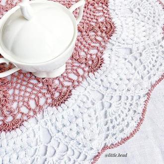 Салфетка вязаная Little Bead Knit