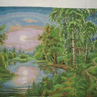 """Картина """"Весенний пейзаж"""""""