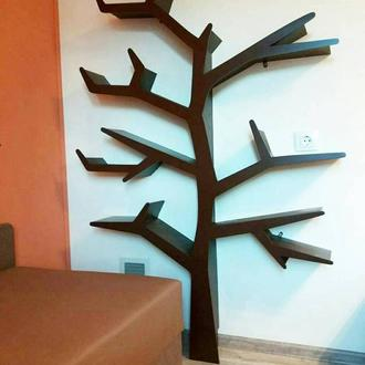 полочка в виде дерева