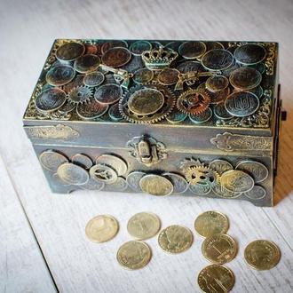 Шкатулка-купюрница ′Arsenal money′