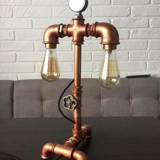 Настольная лампа,светильник в стиле loft(лофт)