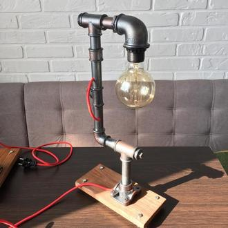 Настольная лампа,светильник в стиле loft