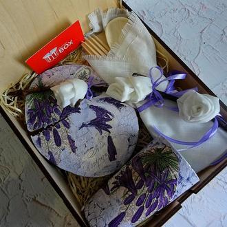 """Подарочный набор для женщины """"Лаванда"""""""