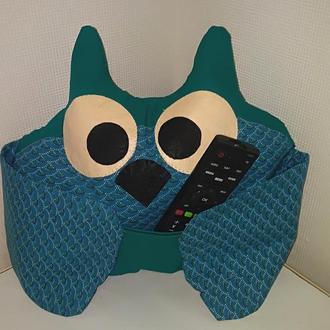 Подушка сова для пультов