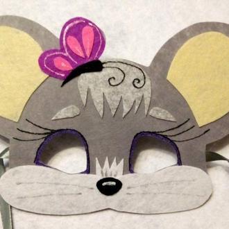Детские  маски Мышек