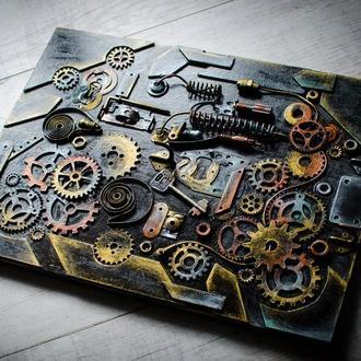 Ключница настенная в стиле лофт ′Keeper of keys′