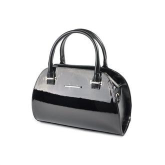 Лаковая сумка Черная