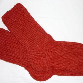 Шерстяные носки  - бесшовные