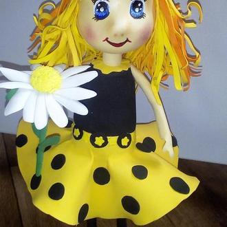 Интерьерная кукла девочка Весна