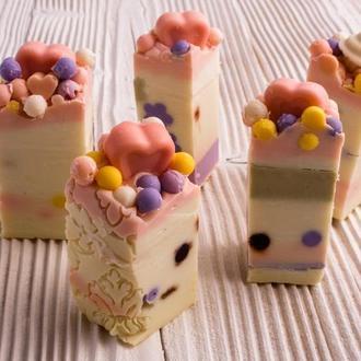 """Натуральное мыло """"Bubble gum"""" от Мир Мыла"""