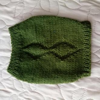 Вязанный свитер для собачки