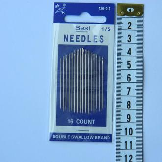 Х011 Иглы ручные NEEDLES (Иголки для ручного шитья)