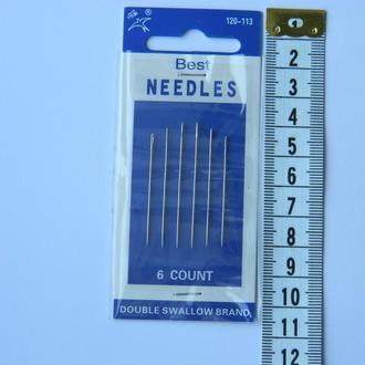 Х113 Иголки для слабовидящих и слепых NEEDLES