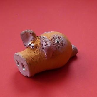 """Свистулька """"Свинка Нюфа"""""""