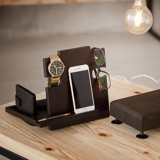 Деревянная подставка для мобильного телефона Waid DS2