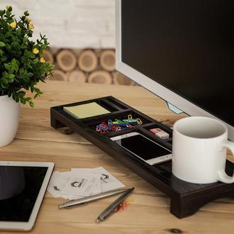 Деревянная подставка для офиса под Desktop от Domik.shop для канцелярии