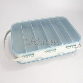 Контейнер, органайзер, коробочка 2х-сторонняя - 18х12х5см