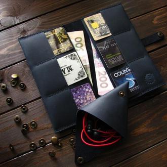Кошелёк-клатч и монетница комплект