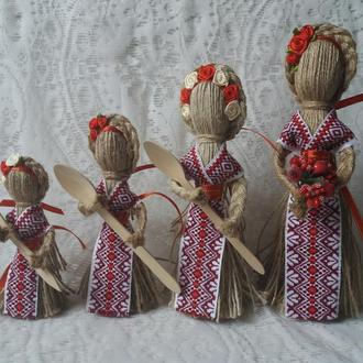 "Подарок-оберег в дом ""Берегиня"" Кукла-мотанка. Handmade."