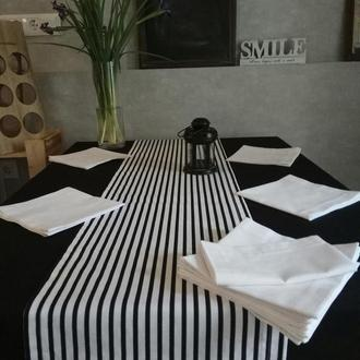 Текстиль для кухни: скатерть, раннер и салфетки