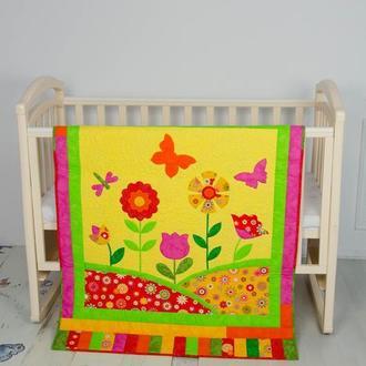 """Одеяльце """"Цветочная поляна"""""""