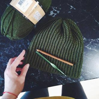 Мужская шапка весна-осень