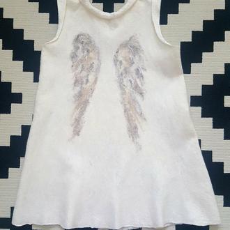 """Эксклюзивное платье ручной работы """"White Angel"""""""