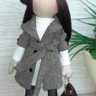 """Интерьерная текстильная кукла """"Романтичная"""""""