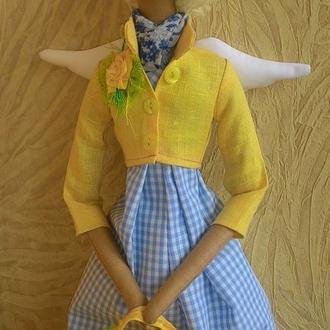 Кукла Тильда Весенний Ангел