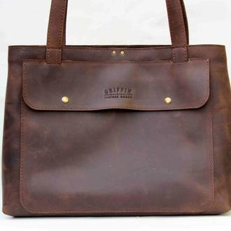 "Сумка ""Tote One"" brown"